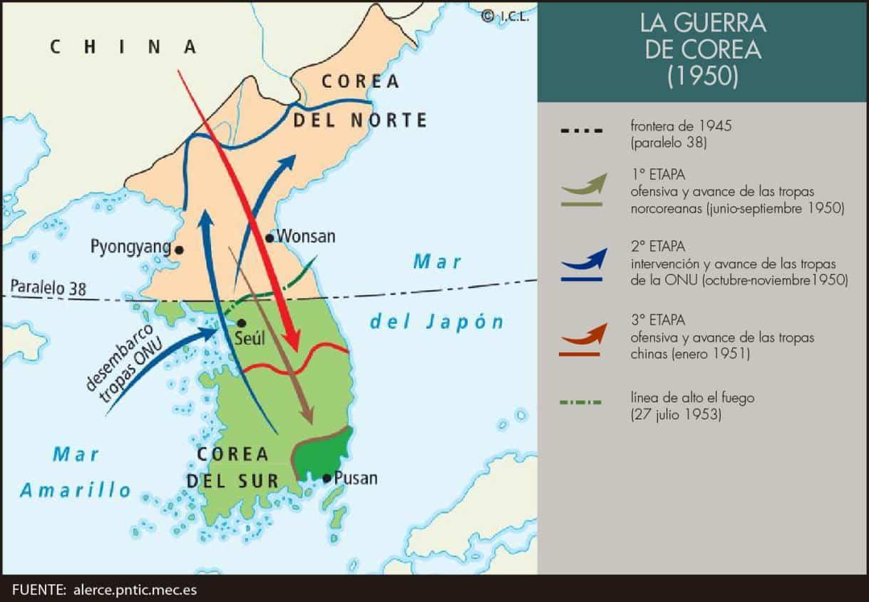 La guerra de corea revista de historia for Pavimentos y suministros del sur