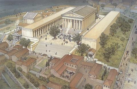 El Mito de Flora. Reconstrucción del templo del Quirinal