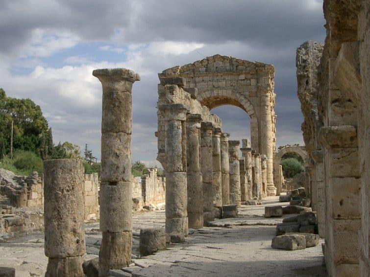 Tiro, ruinas