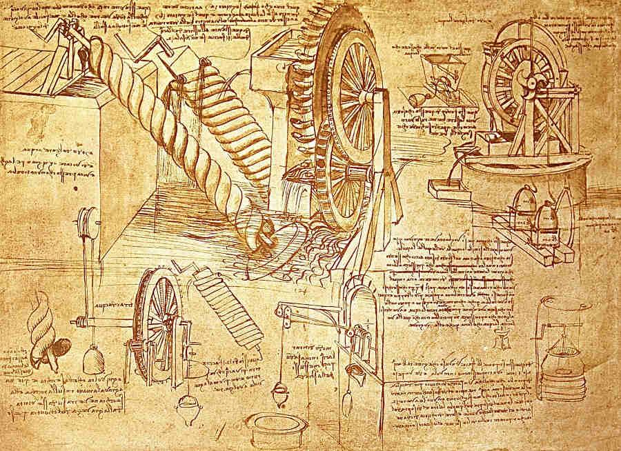 Arquímedes y el tornillo hidráulico
