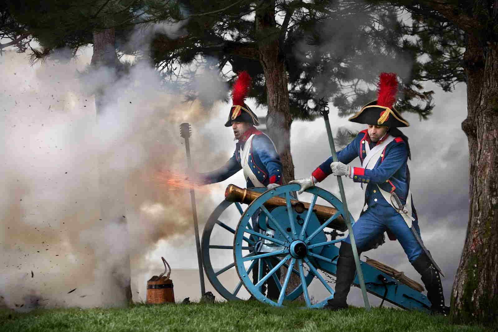 El Ejército español en 1808. Real Cuerpo de Artillería