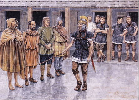 El entrenamiento de las Legiones de Roma