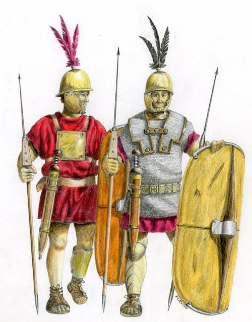 Las primeras Legiones de Roma