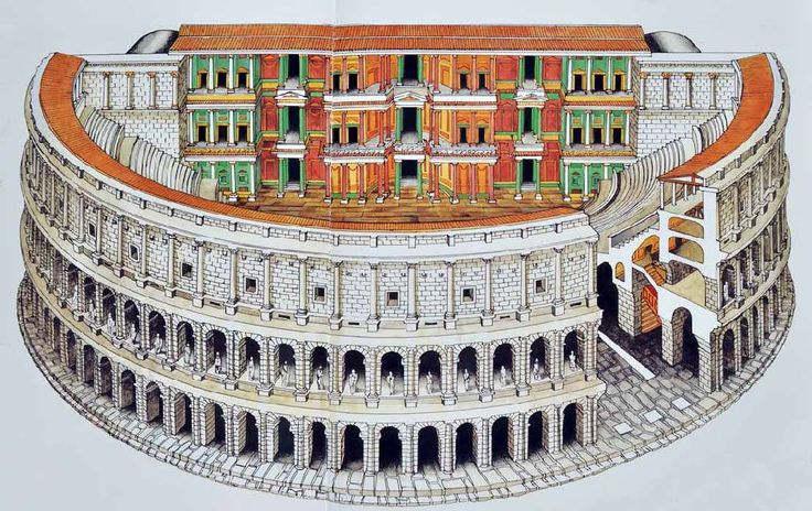El teatro Marcelo, el primero de Roma