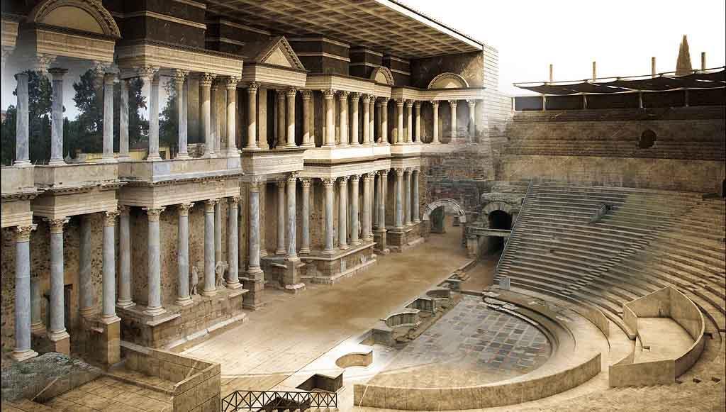 Boda Teatro Romano Merida : El teatro romano de mérida revista historia