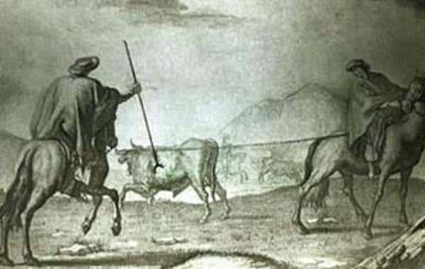 Vaquerías en Buenos Aires colonial