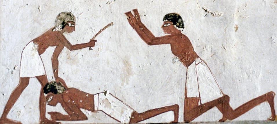 La policía del Antiguo Egipto