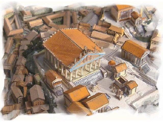El Templo de Júpiter Óptimo Máximo