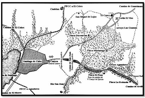 Santiago de Cuba, la campaña de 1898