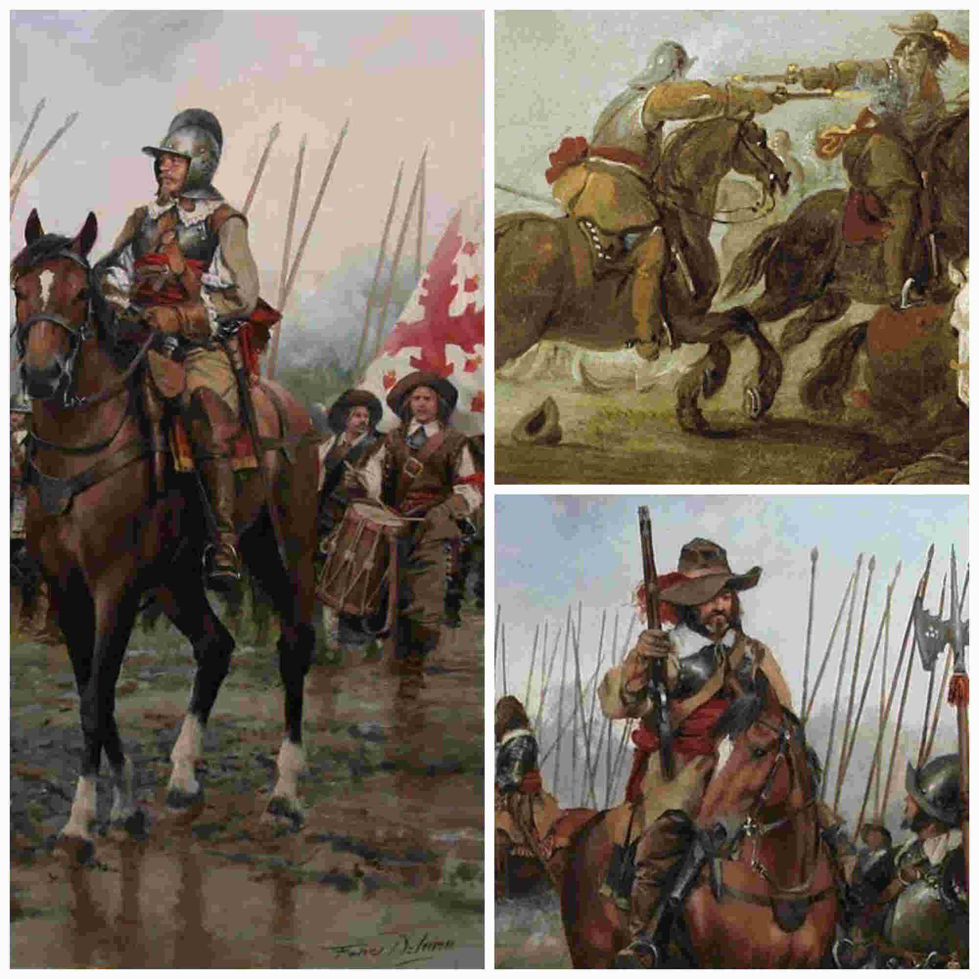 La caballería de los Tercios y la táctica de la caracola