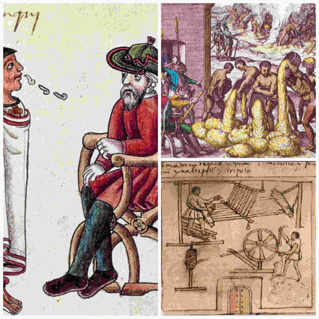 La encomienda en Hispanoamérica colonial