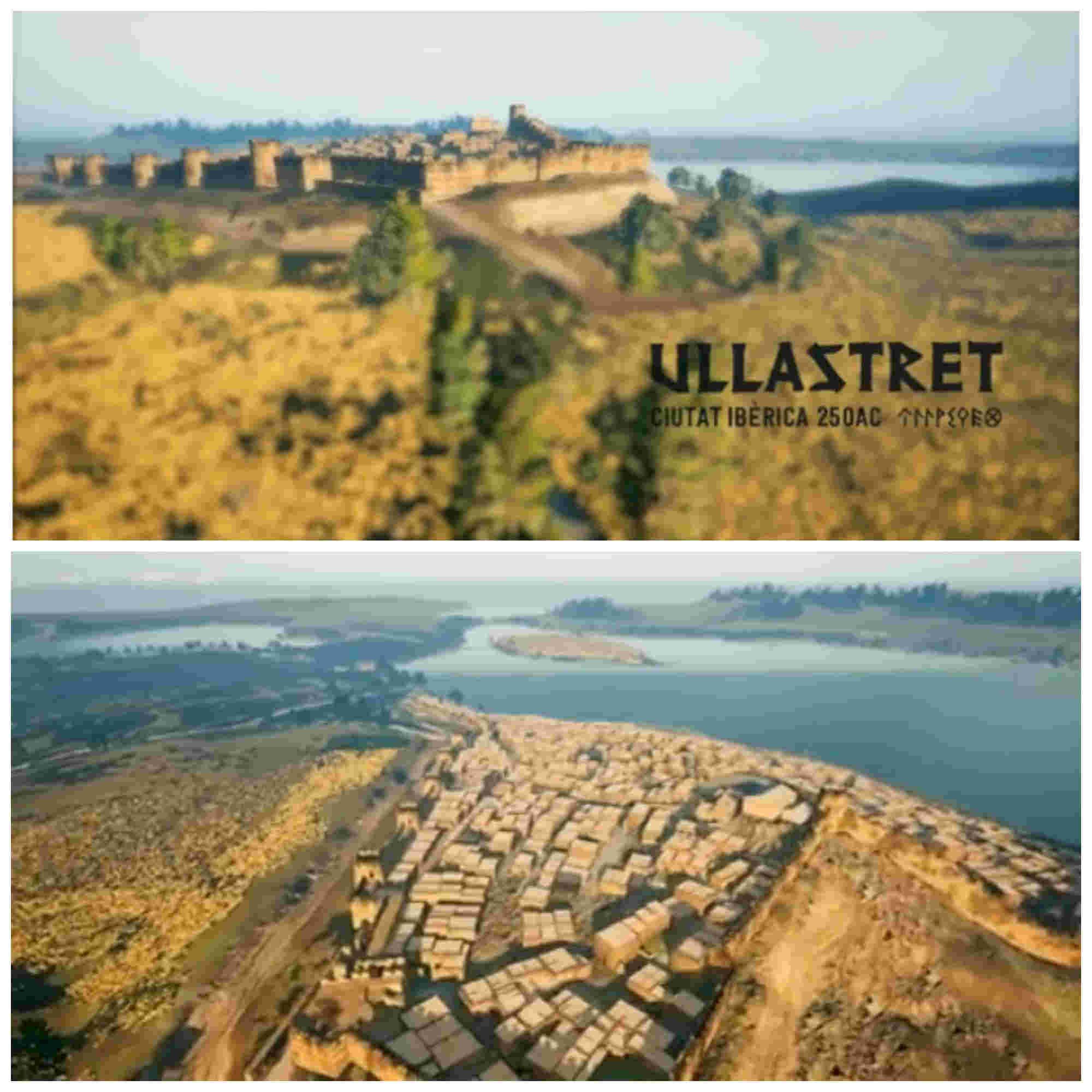 Ullastret, una gran ciudad íbera (Vídeo en 3D)
