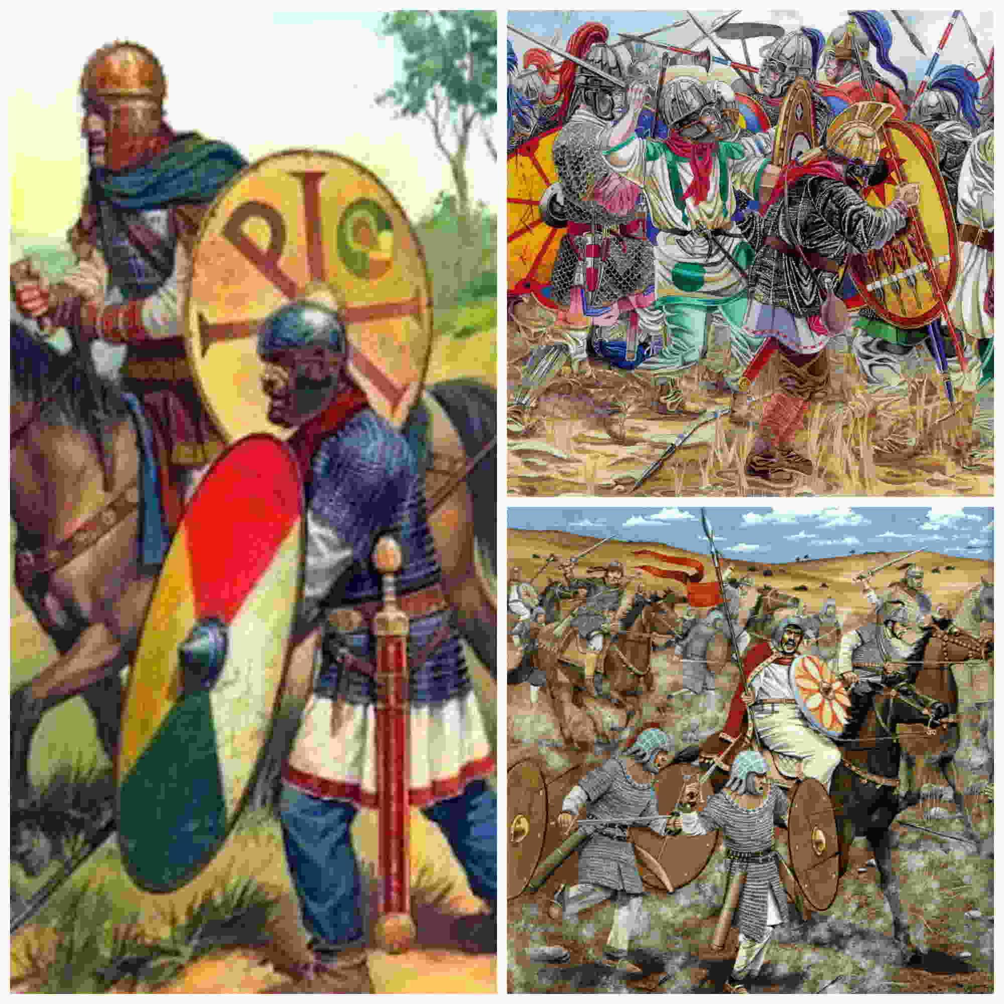 El ejército de Bizancio en el siglo VI