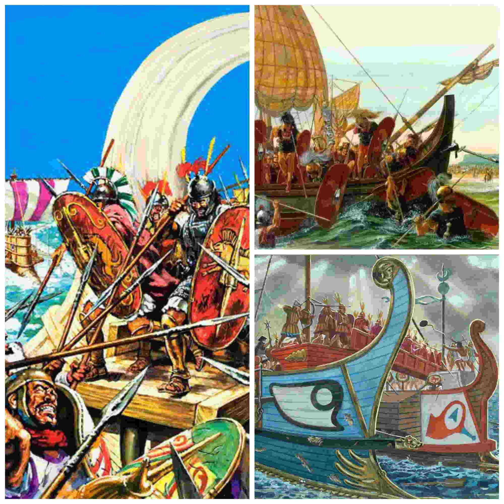 Milites classici, infantería de marina romana