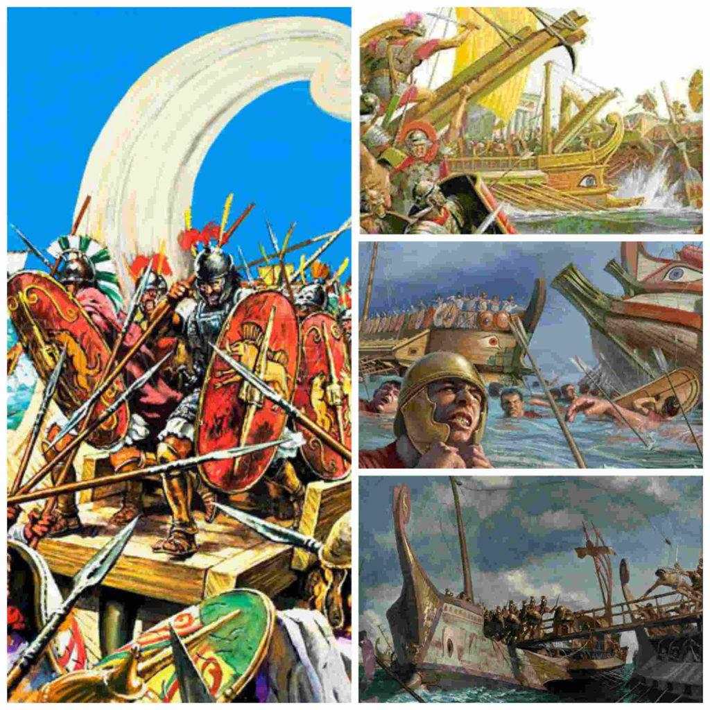 El Corvus, el arma que dio a Roma la supremacía naval
