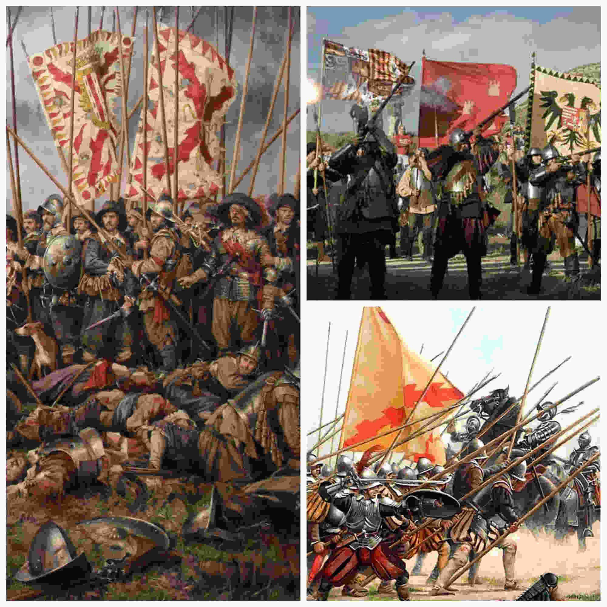 Tercios españoles, las tácticas de una fuerza de élite
