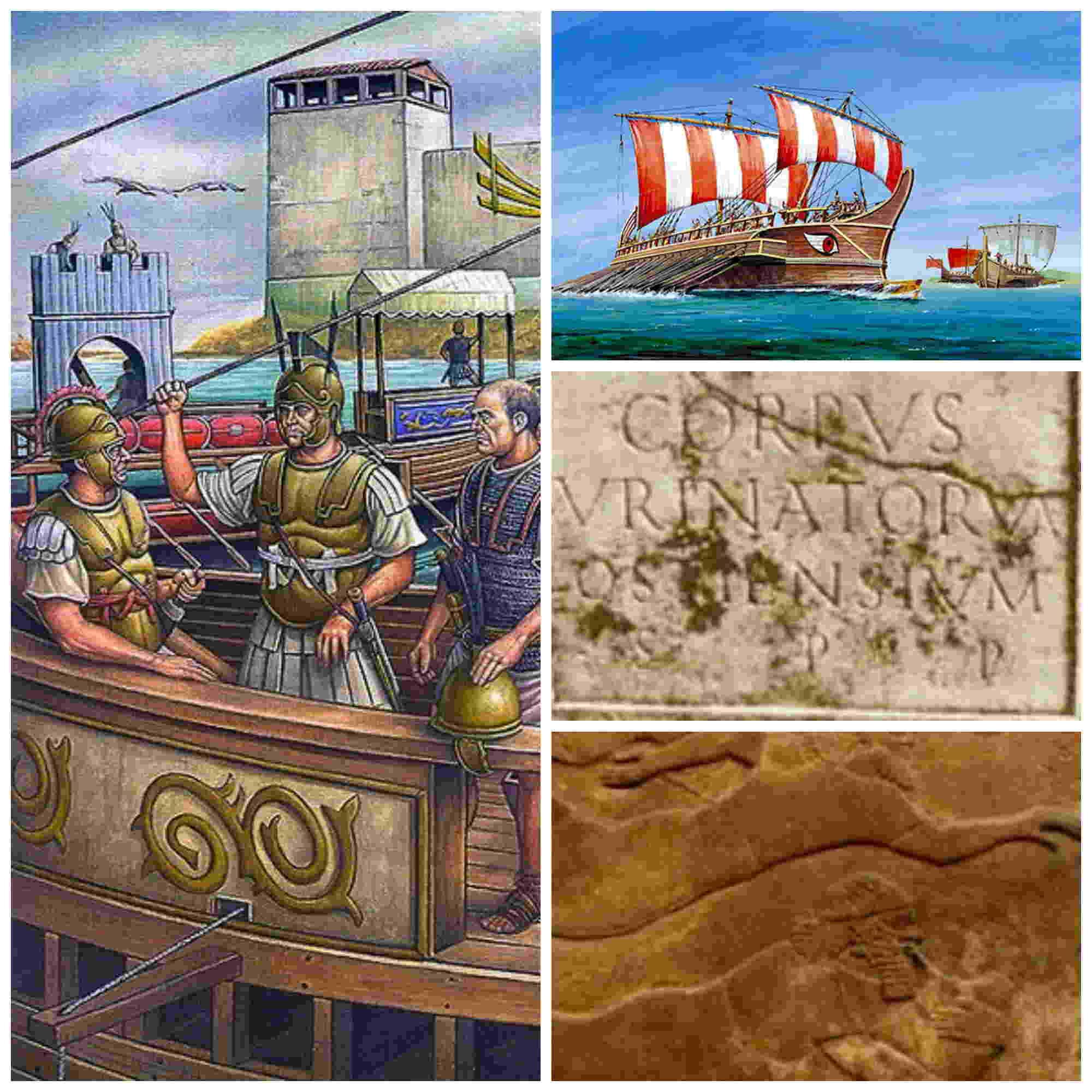 Urinatores, los buceadores de combate del Imperio Romano