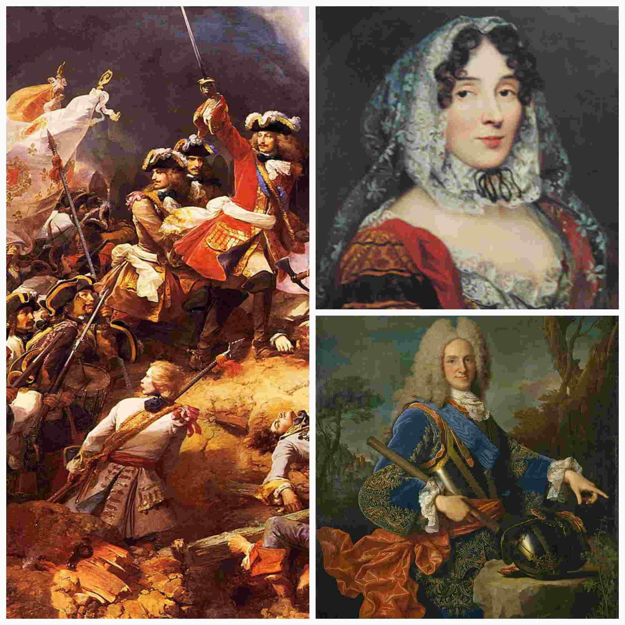 La princesa de los Ursinos, poder y espionaje en la corte de Felipe V