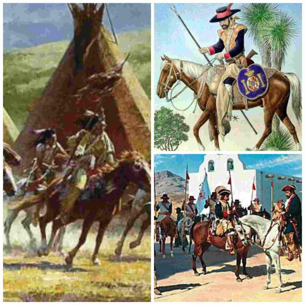 La defensa española de Tucson contra los apaches