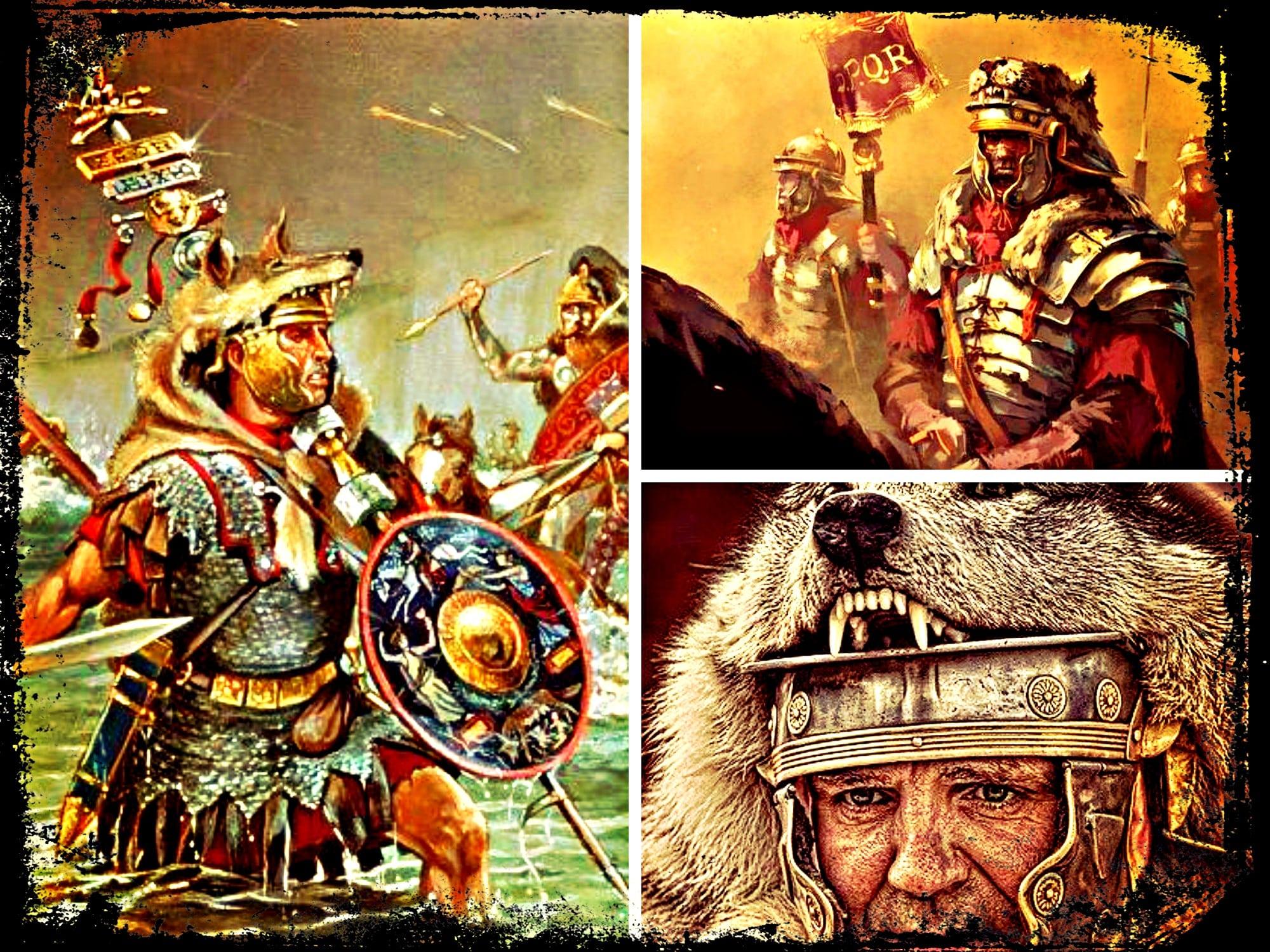 La evolución de los estandartes romanos