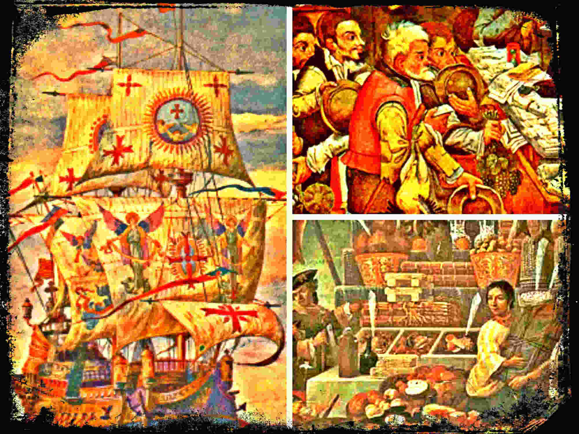 Los impuestos coloniales de la Monarquía Hispánica