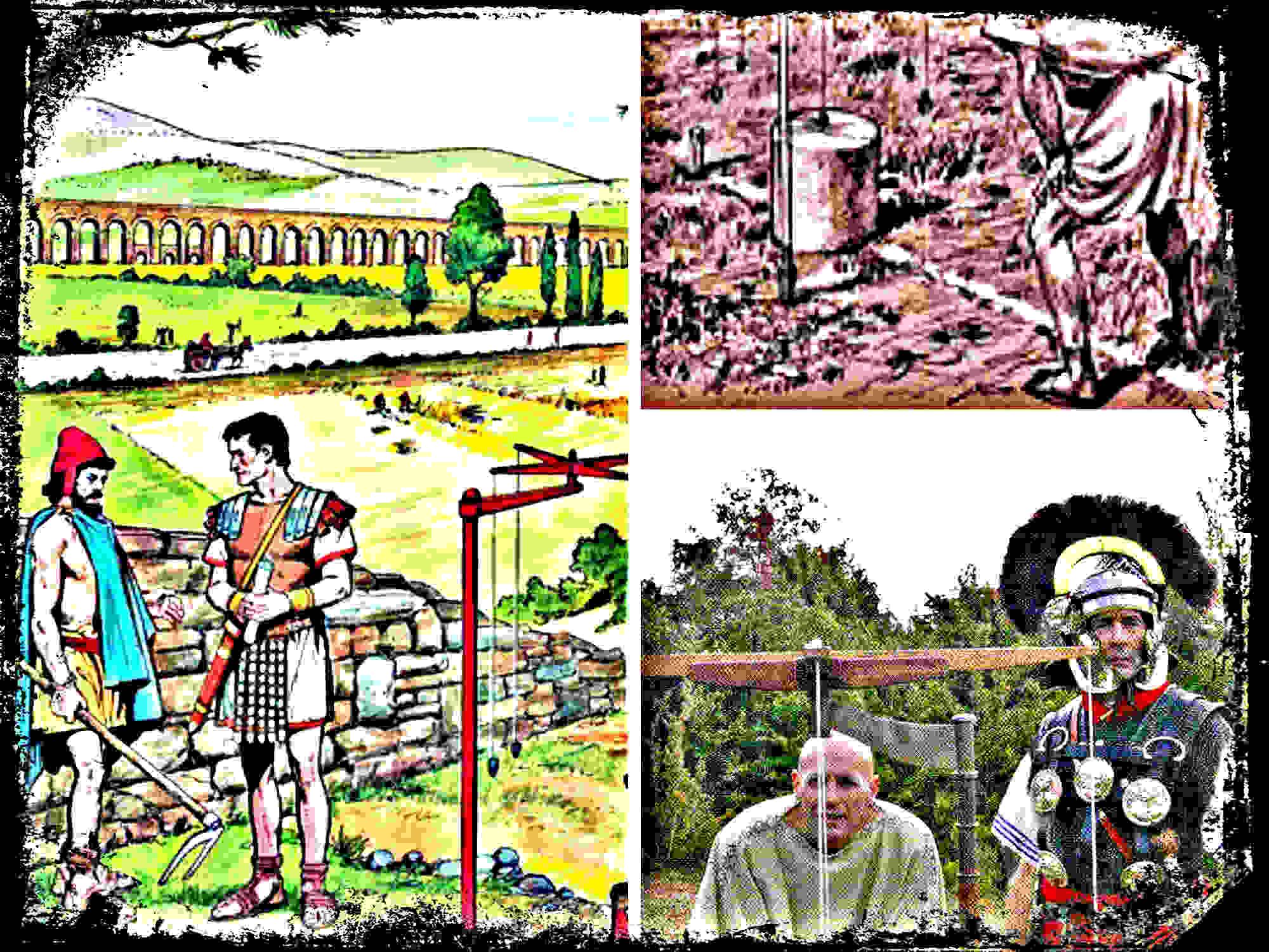 Centuriaciones, los Agrimensores