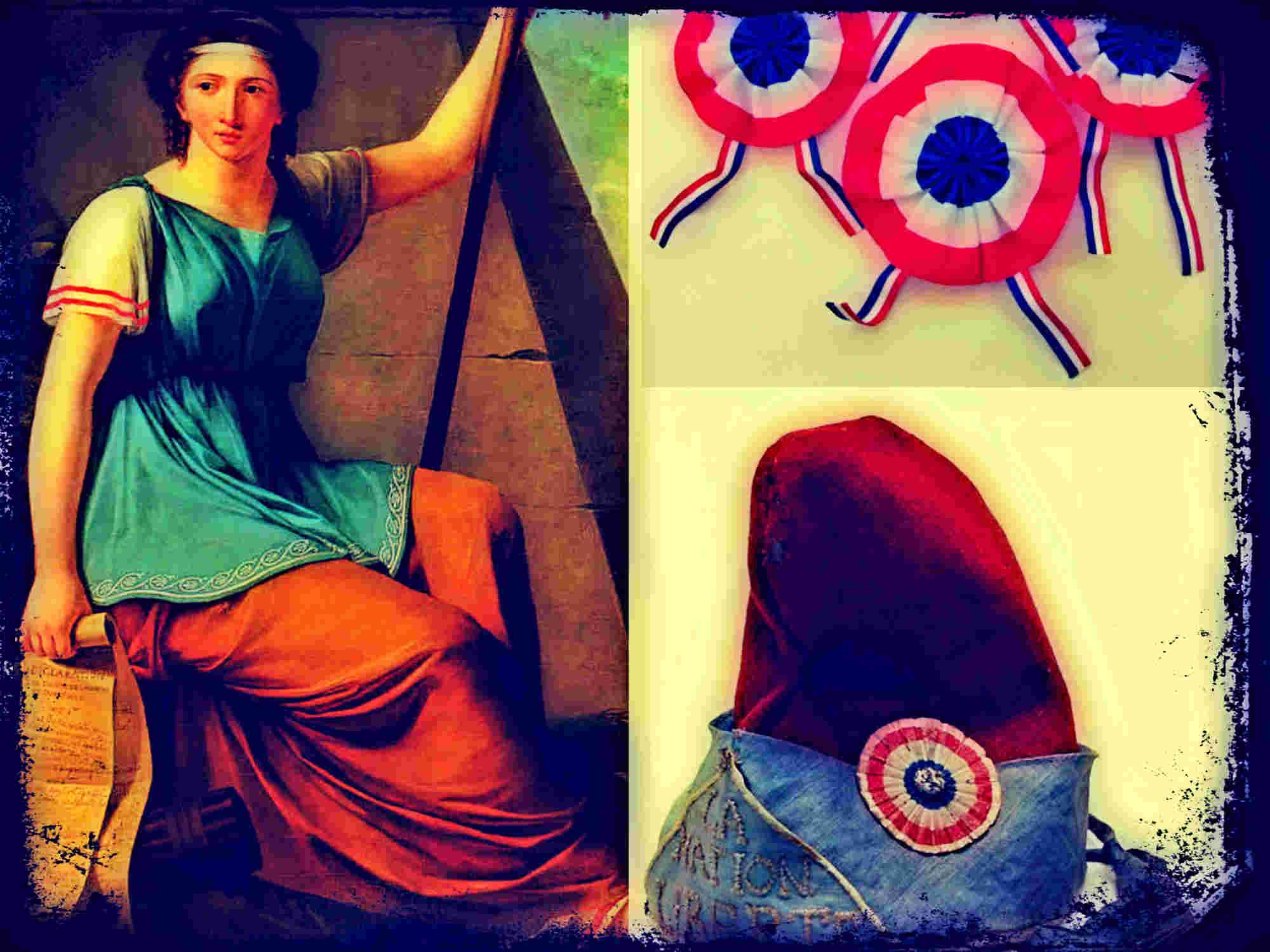 Los símbolos de la Revolución Francesa