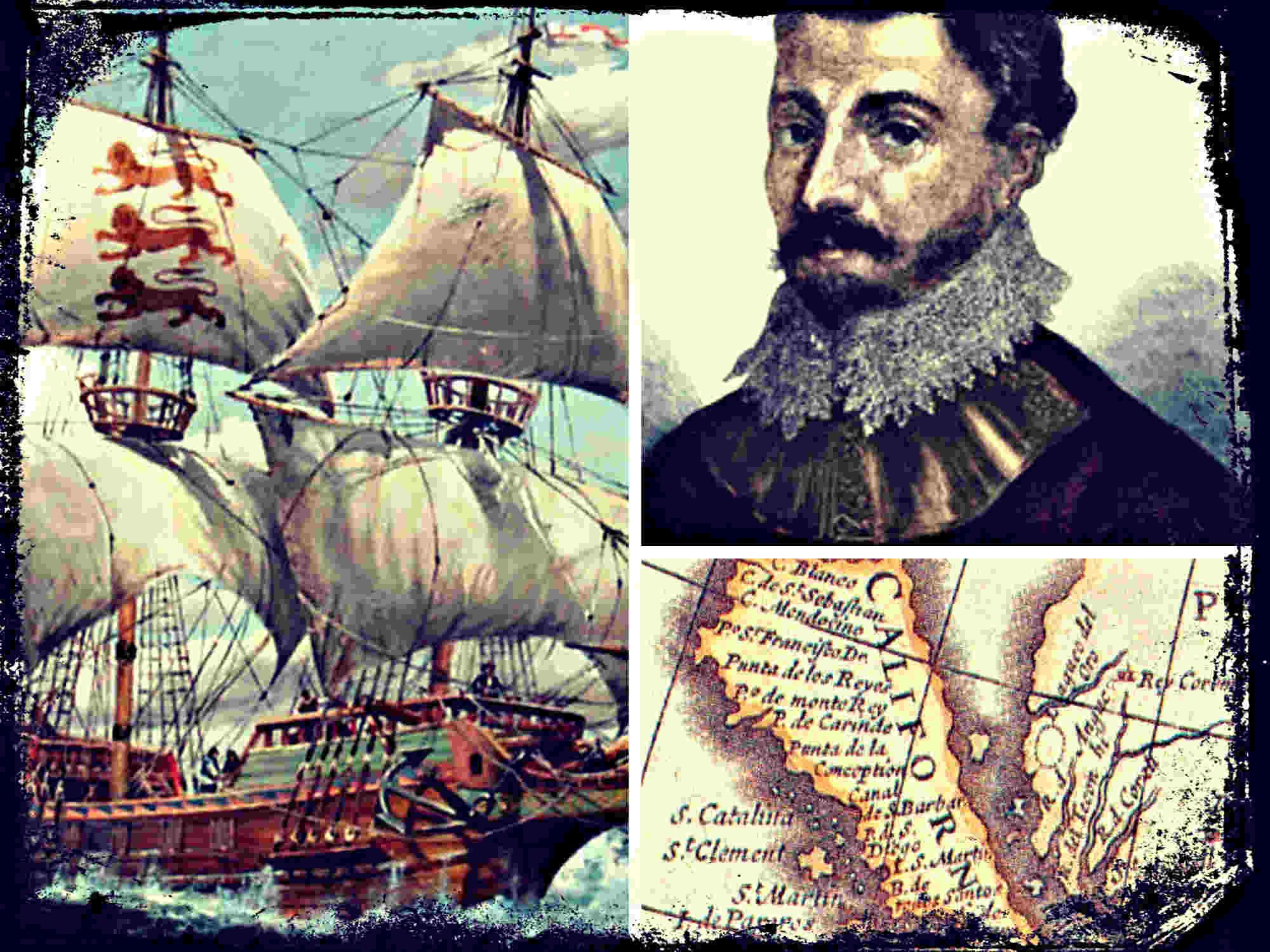 Sebastián Vizcaíno descubre la Bahía de Monterrey