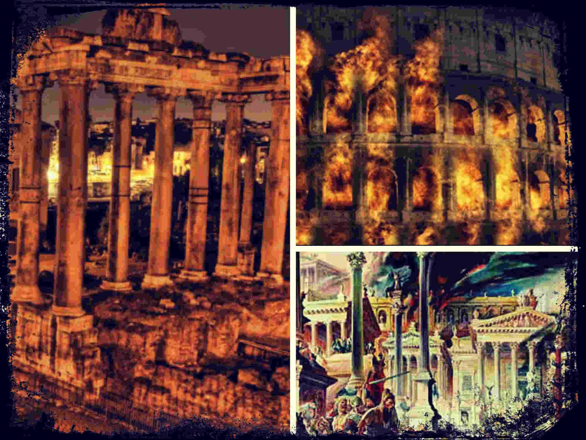 La caída de Roma, ¿y el comienzo de una edad feliz?