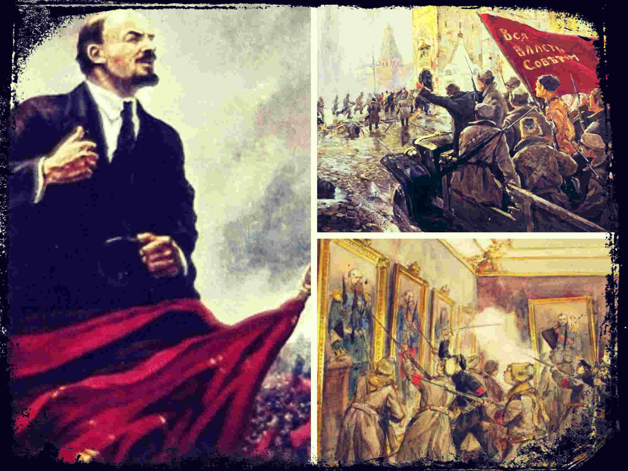 La Revolución Rusa y la toma del Palacio de Invierno