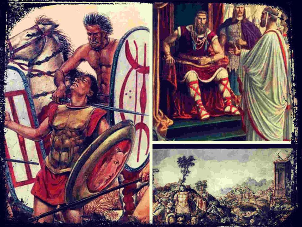 Batalla de Alia, los galos derrotan a Roma