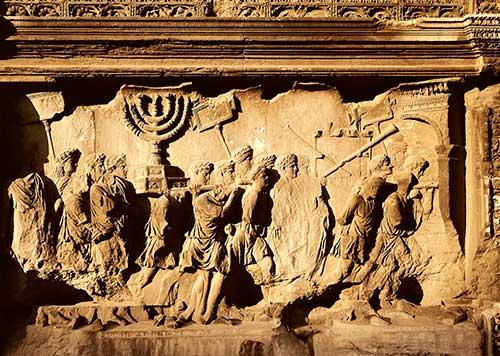 La conquista de Masada.