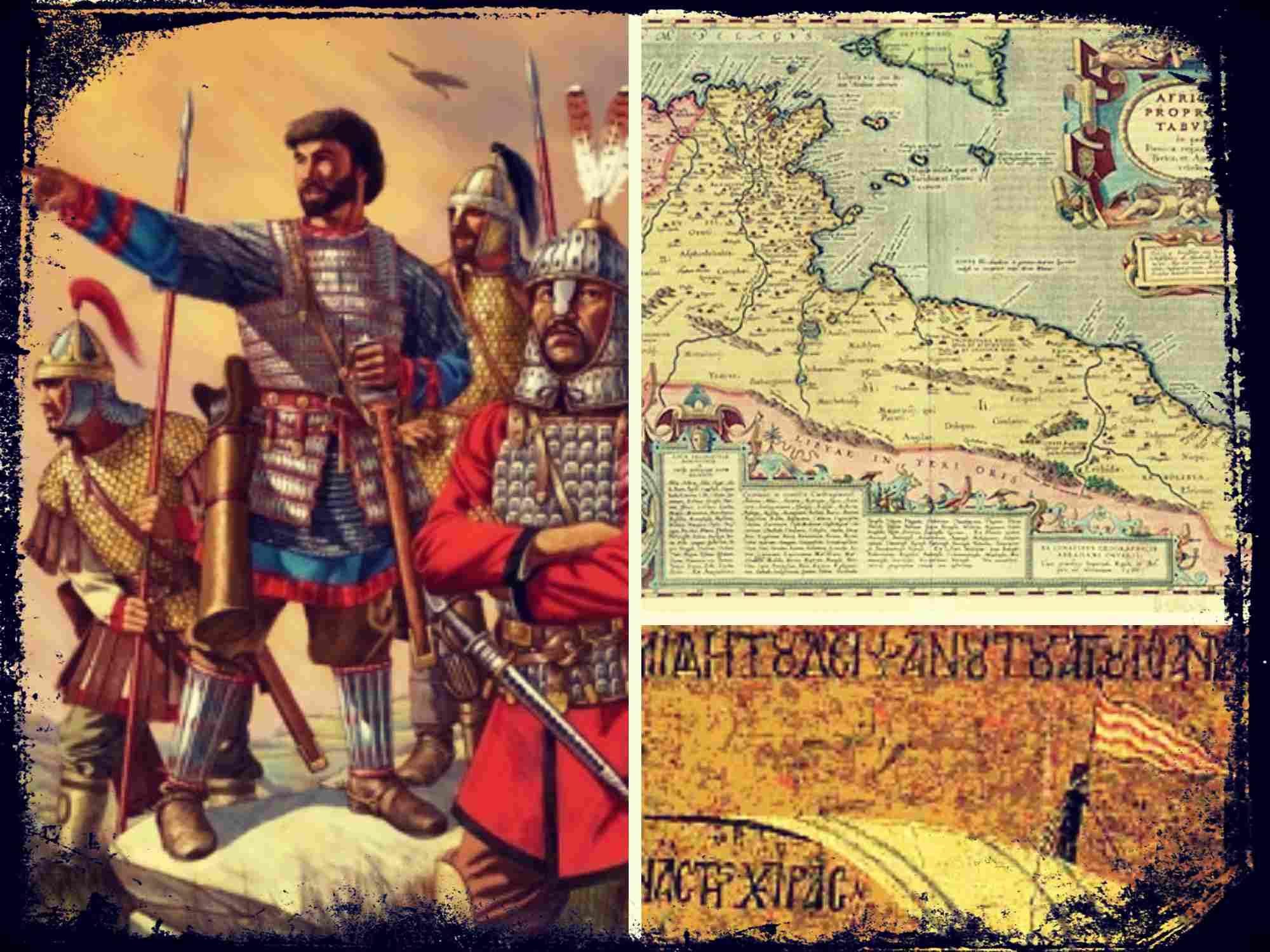La reconquista Bizantina de la Provincia romana de África