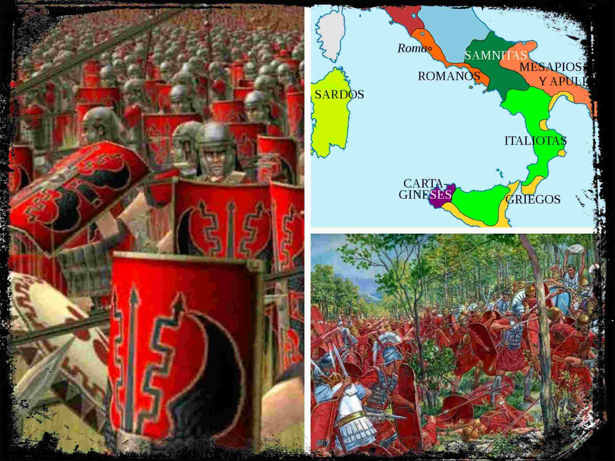 Breve historia de las Guerras Samnitas