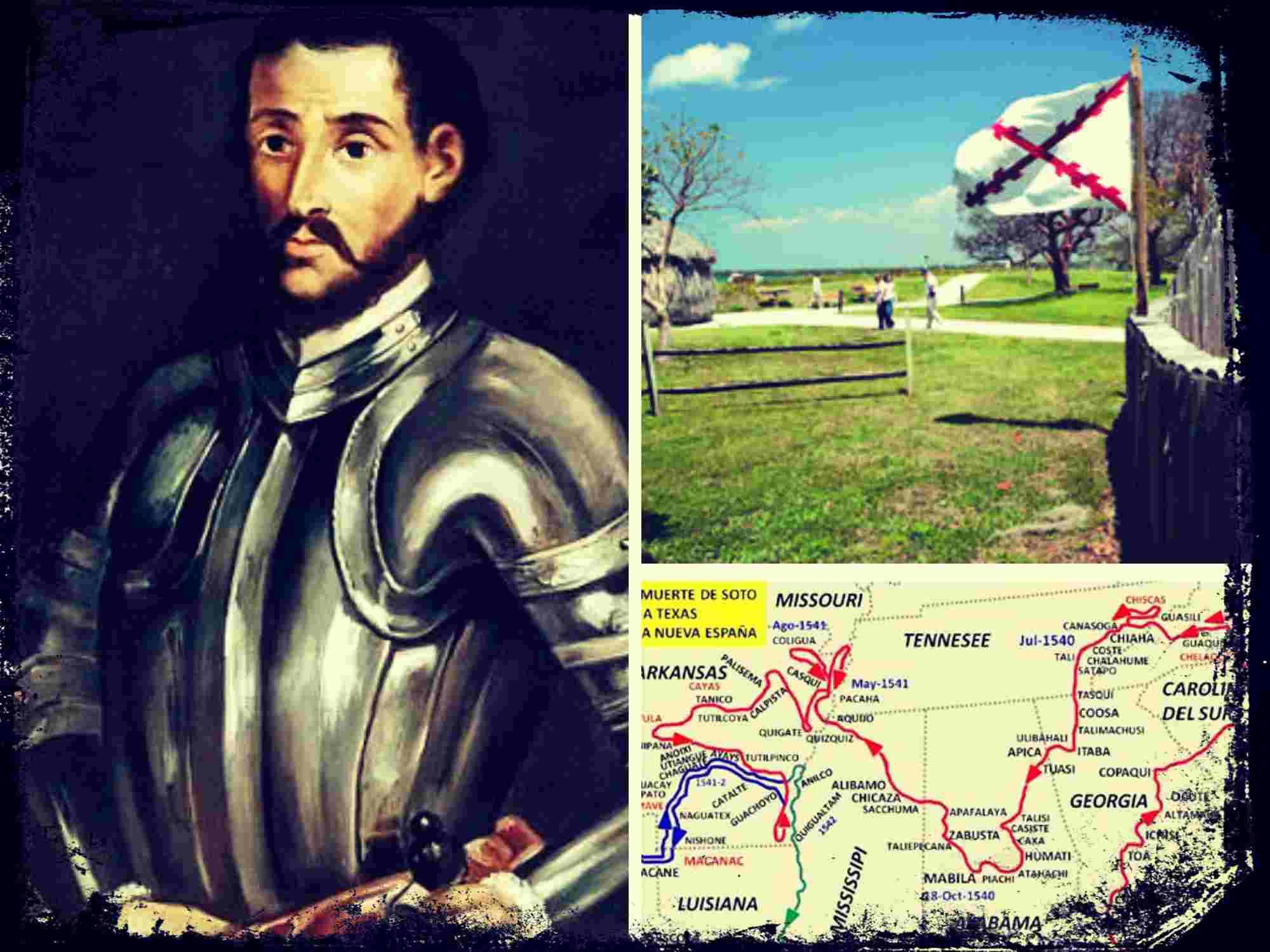 La expedición norteamericana de Hernando de Soto