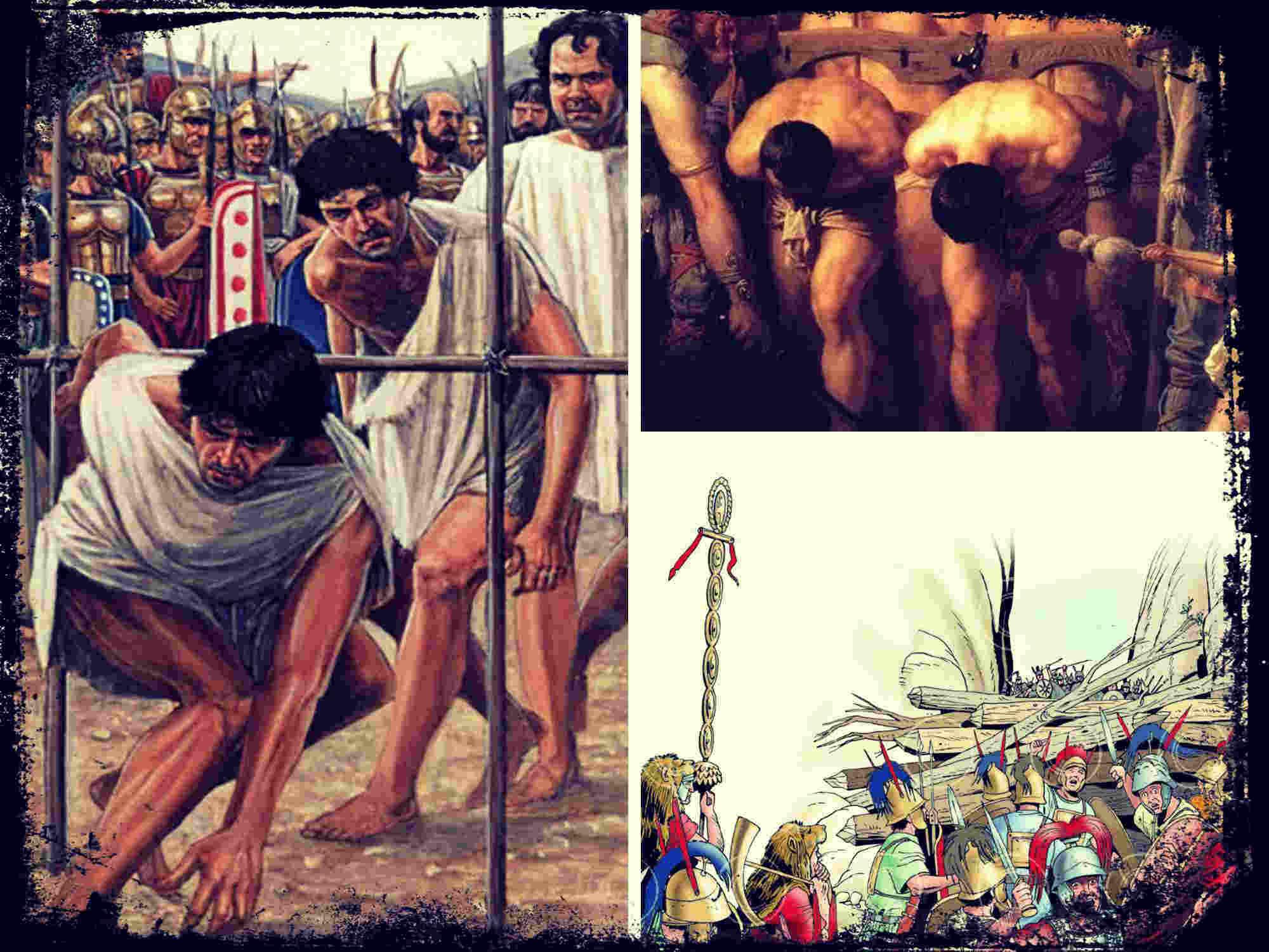 La batalla de las Horcas Caudinas