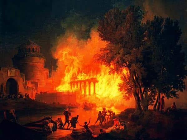 80 d.C., el otro Gran Incendio de Roma
