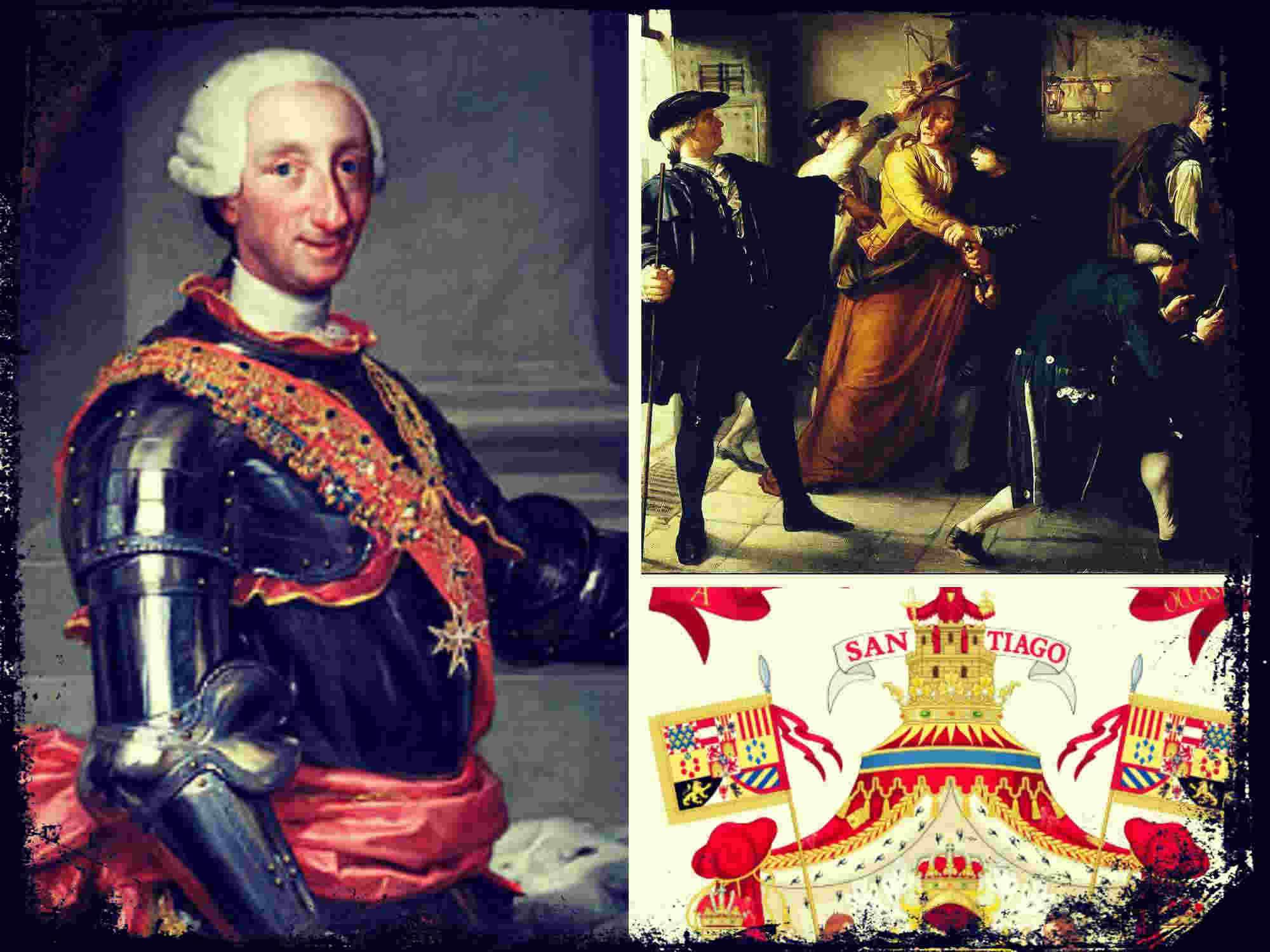 El reinado de Carlos III: las Secretarías de Gobierno y el Motín de Esquilache