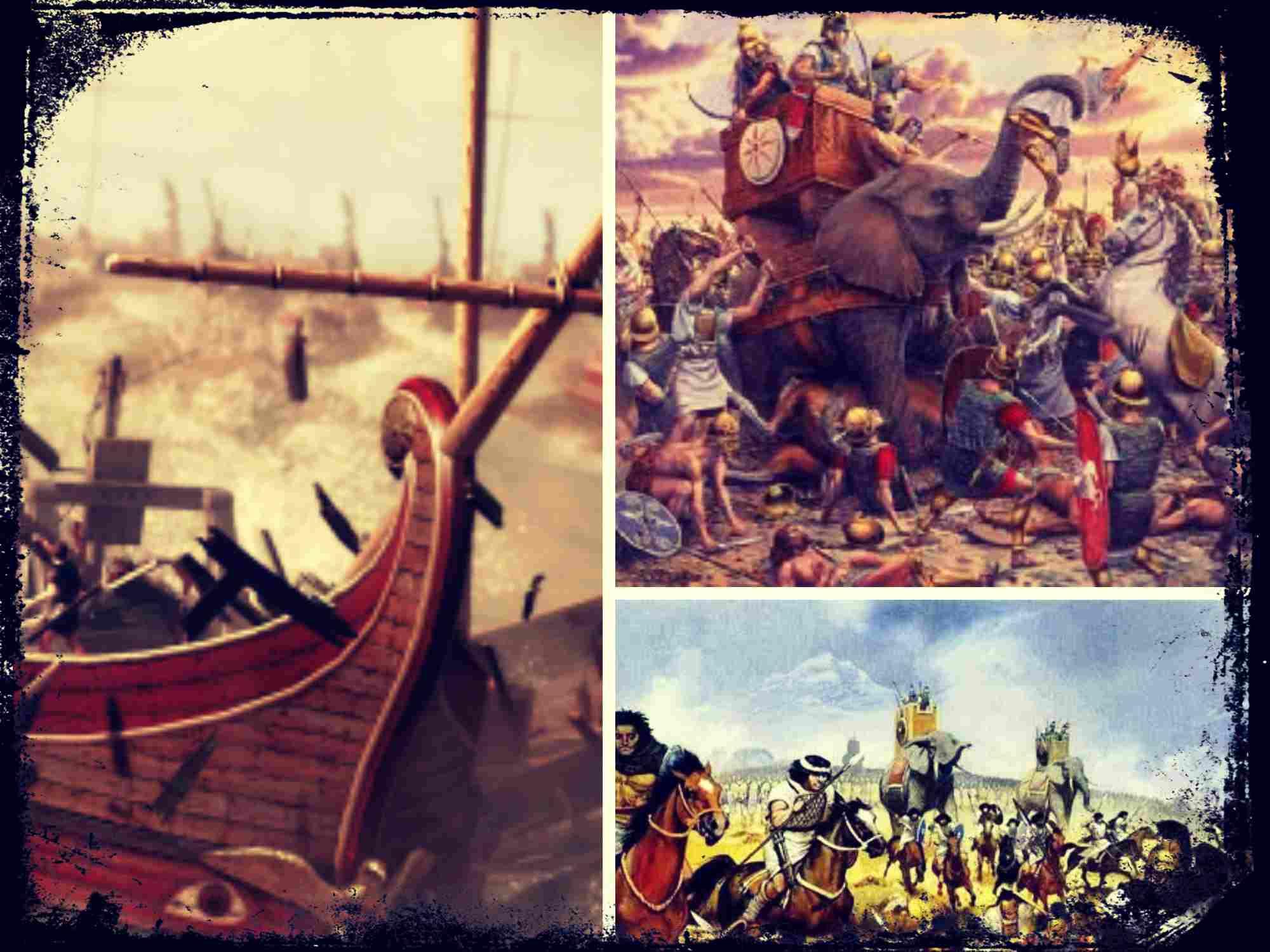 El encumbramiento de Roma y sus conflictos con Cartago