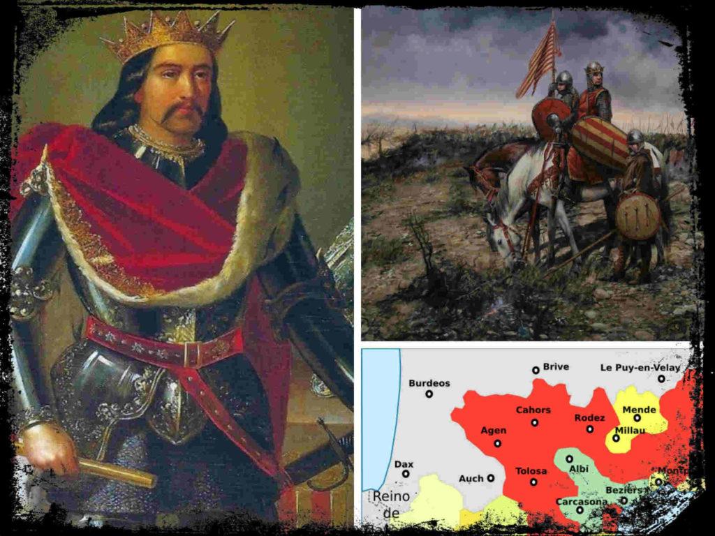 Pedro II de Aragón, cuando Aragón era una Gran Potencia