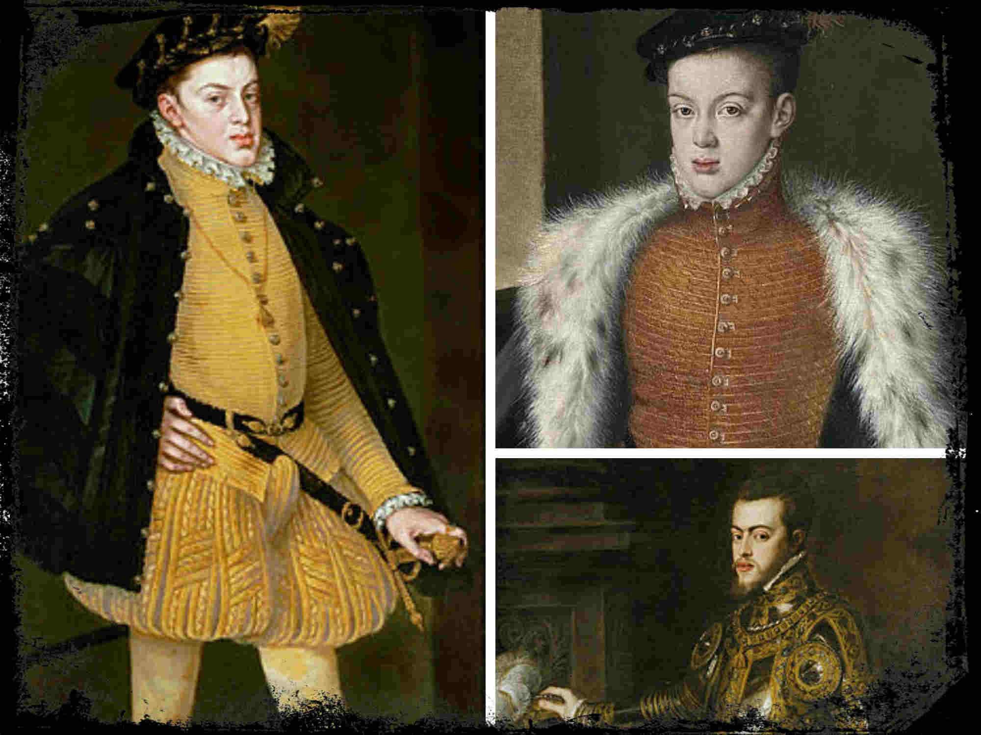 El arresto de Carlos, hijo de Felipe II