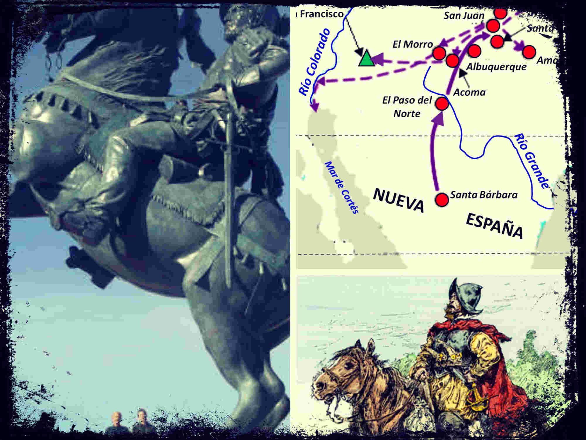 Juan de Oñate, la verdadera conquista del Oeste Americano
