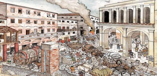 Marco Licinio Craso, especulación inmobiliaria en Roma | Historias de nuestra Historia