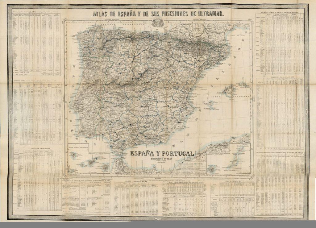 La historia de España vista a través de 12 mapas – Geografía Infinita – Revista de Historia