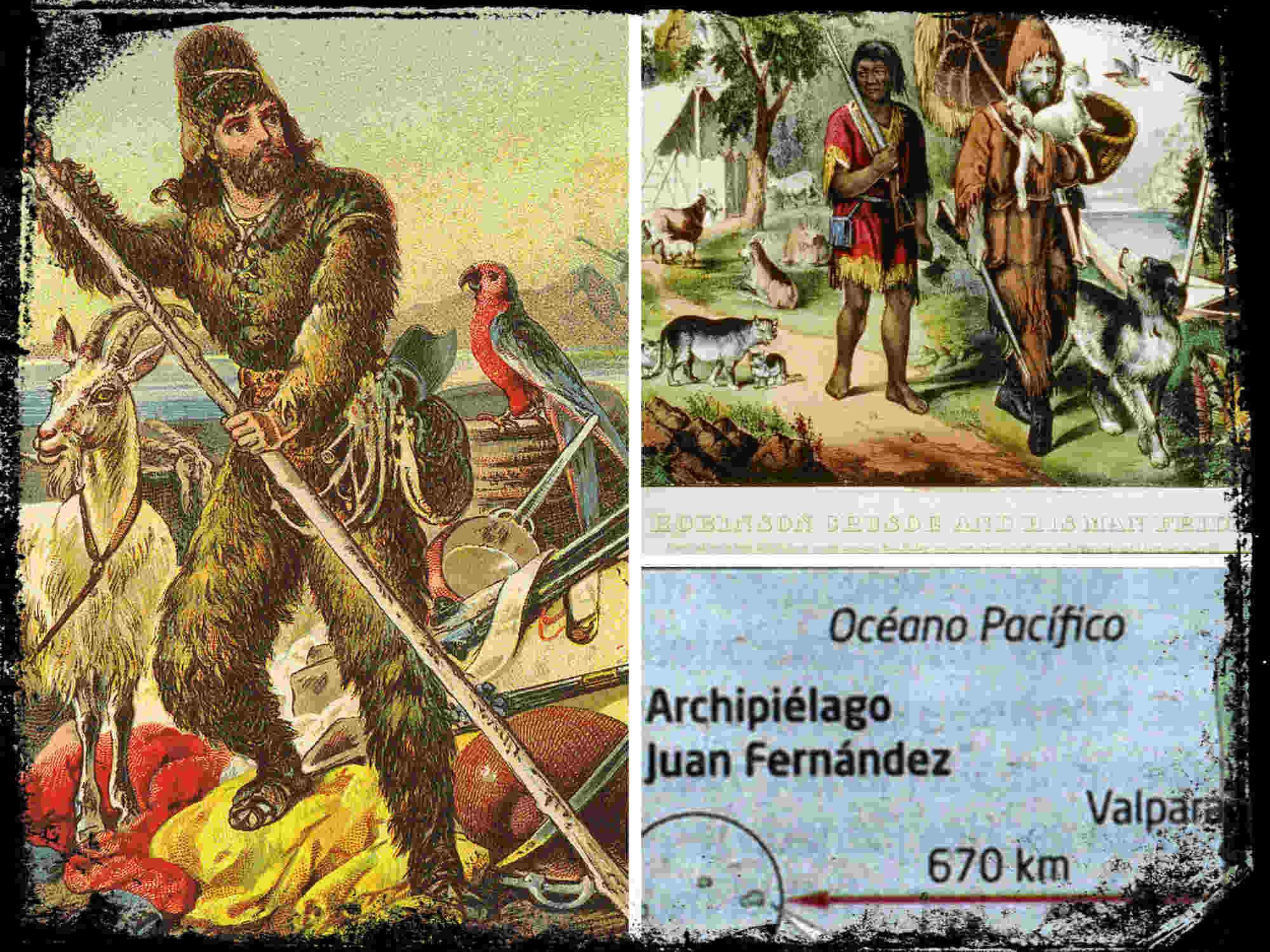 El navegante español Juan Fernández y la Isla de Robinson Crusoe