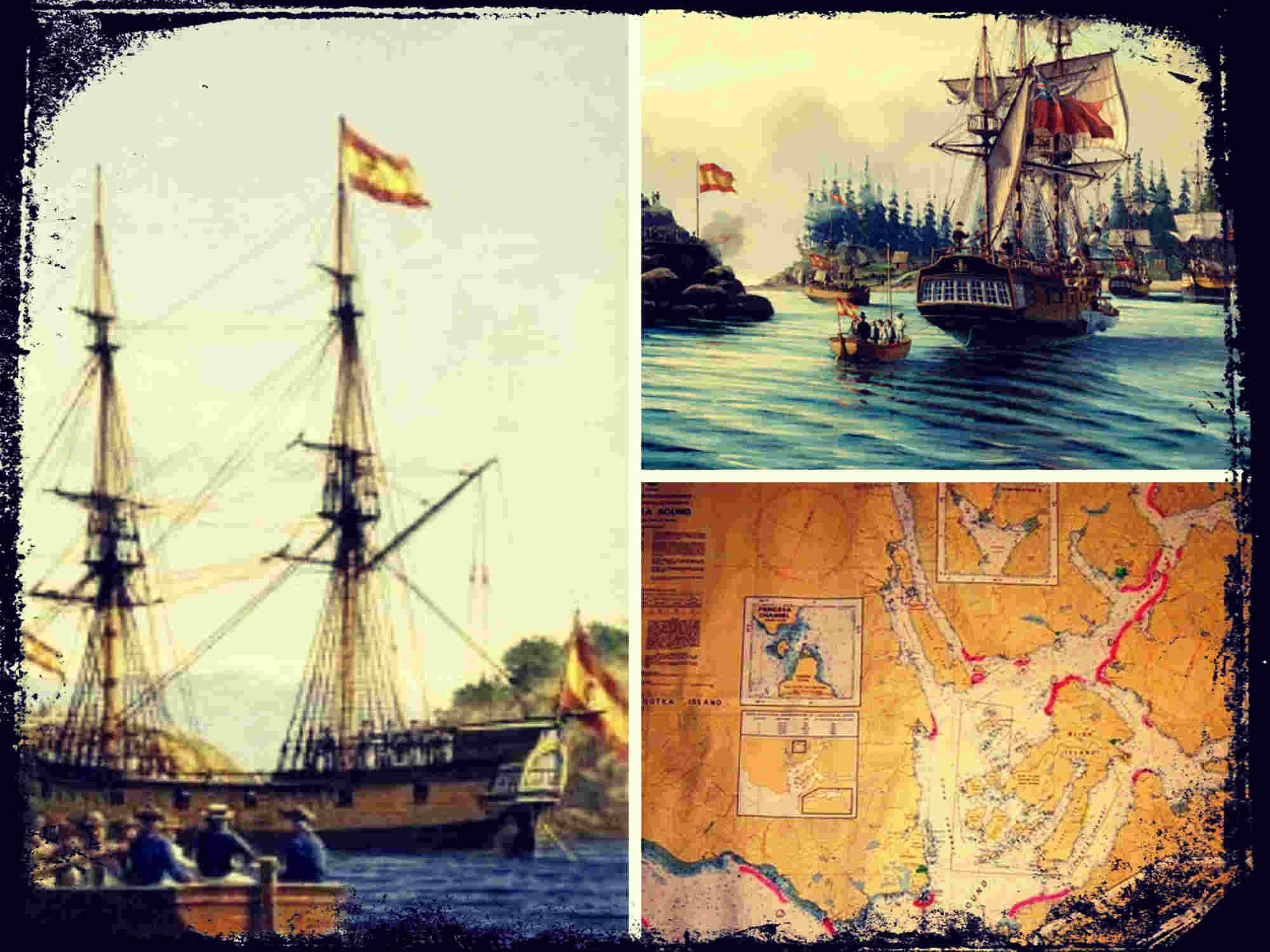 Nootka, la presencia española en el punto más septentrional del mundo