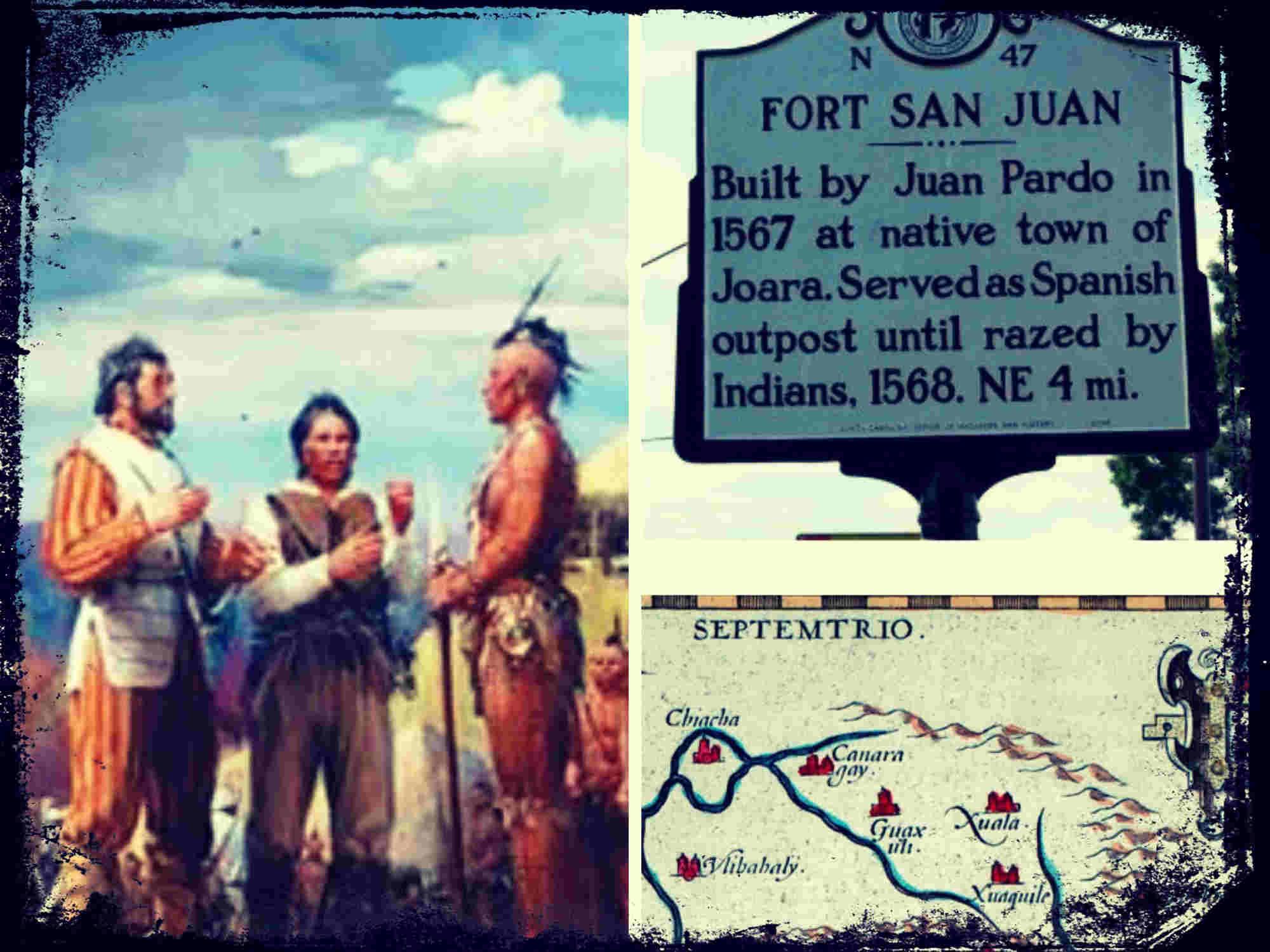 Las expediciones del Capitán Juan Pardo por el sureste norteamericano