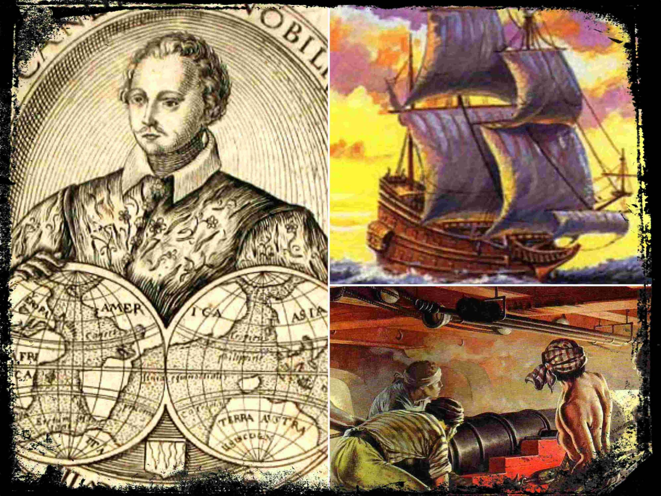 El Corsario inglés Thomas Cavendish