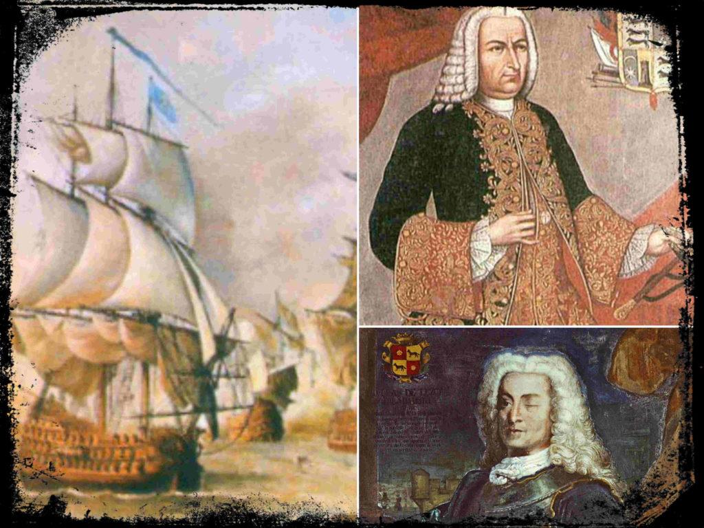Sebastián de Eslava, Blas de Lezo y el Sitio de Cartagena de Indias