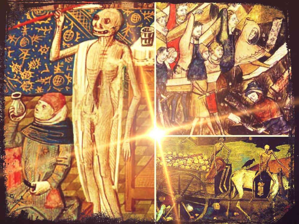 La Peste Negra en la vida diaria del siglo XIV
